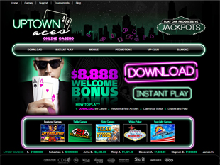 Uptown Aces Casino Home